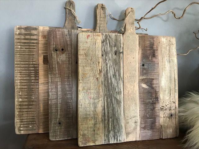 Decoratieve houten snijplank