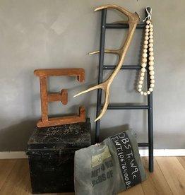 Decoratieve ladder zwart
