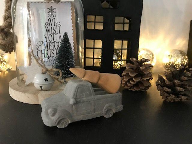 Auto beton kerstboom