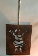 Hanger metaal KERSTMAN