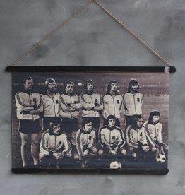 Fotokaart Nederlands elftal