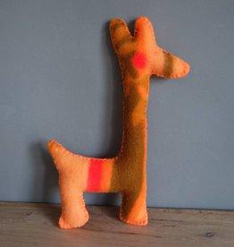JGhomedeco Giraf oude deken kleur