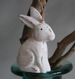 Houten paashanger konijn