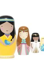 Petit Monkey Nesting dolls Prinsessen