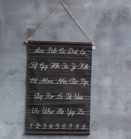 Schoolkaart Alfabet