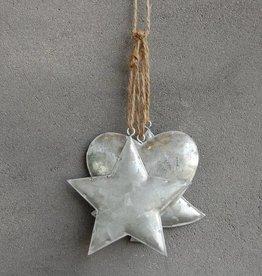 Metalen kersthangers