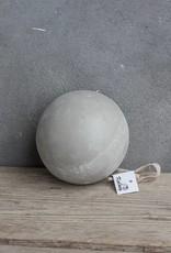 Houten bal betonlook L