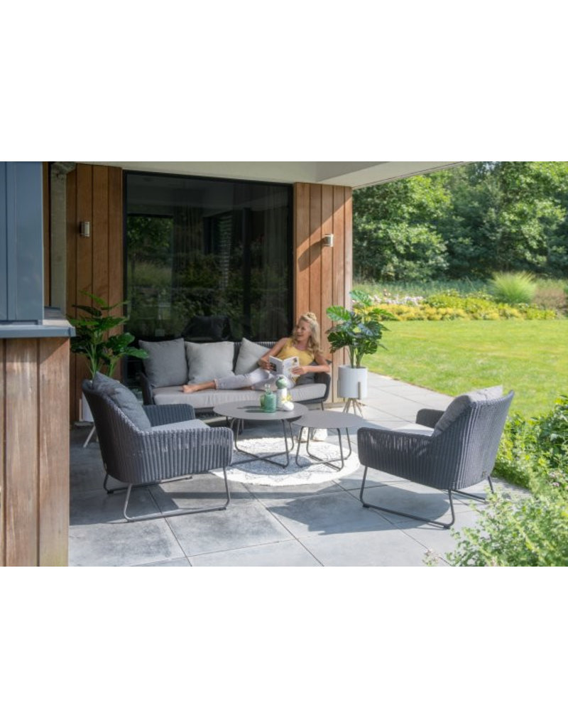 4 Seasons Outdoor Tuinmeubelen Loungeset Avila met 2 Dali tafel