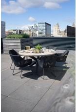 4 Seasons Outdoor Tuinmeubelen Diningset Avila met tafel Louvre 160 cm rond
