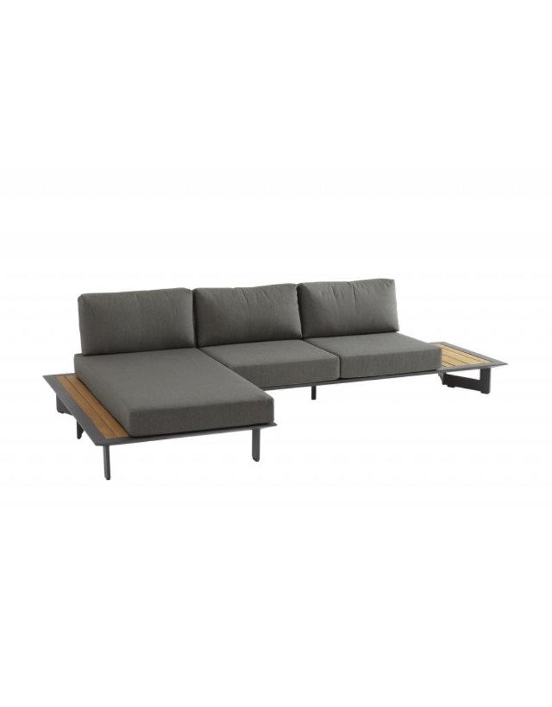 Fine Taste Tuinmeubelen Loungeset Lovina 2 Delig Met Chaise Lounge Machost Co Dining Chair Design Ideas Machostcouk