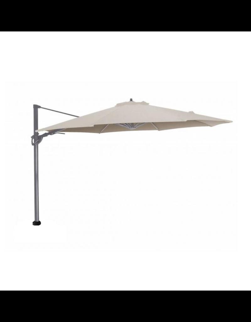 Beach7 Tuinmeubelen Parasoldoek Granada Wit 300 x 300 cm