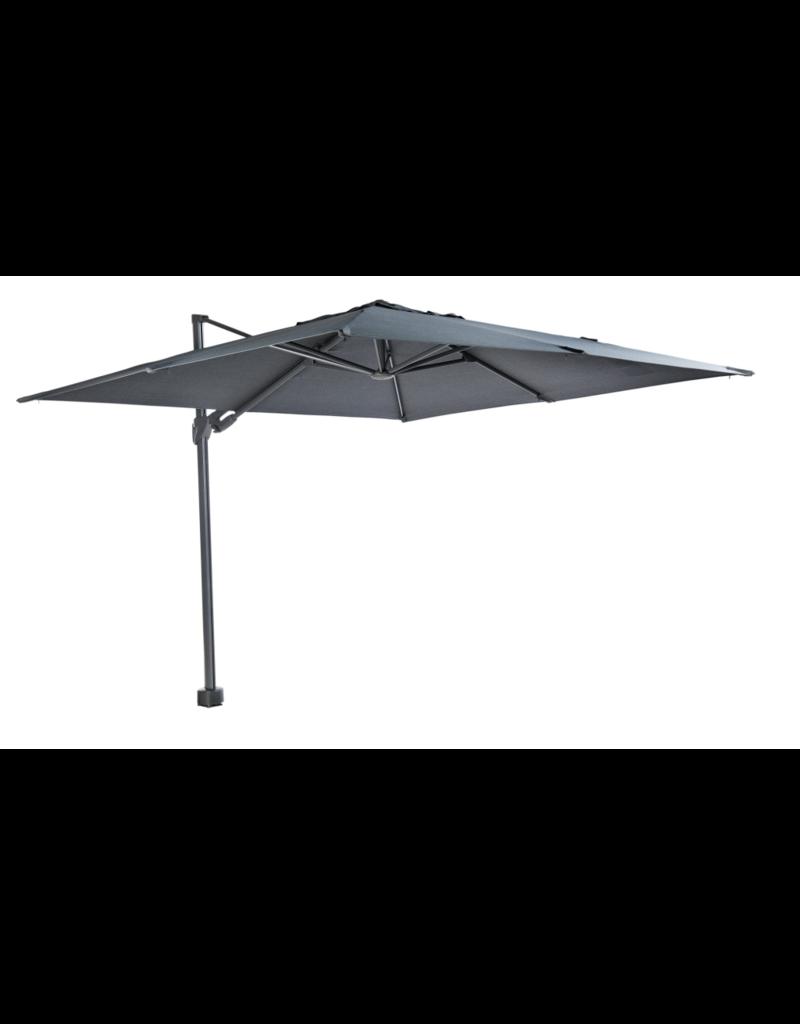 Beach7 Tuinmeubelen Parasoldoek Kos Donker Grijs 300 x 300 cm