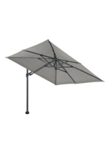 Beach7 Tuinmeubelen Parasoldoek Kos Grijs 300 x 300 cm