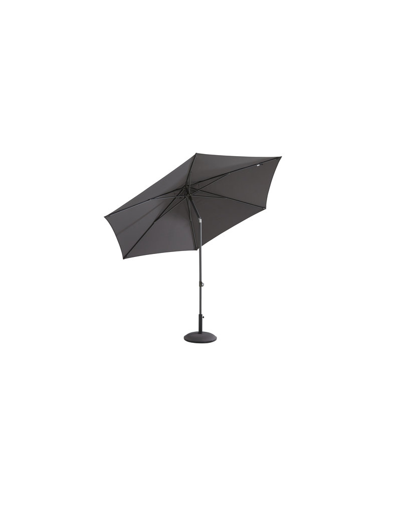 4 Seasons Outdoor Tuinmeubelen Parasol Oasis 250 cm ø Anthracite