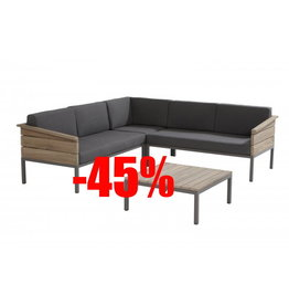 4 Seasons Outdoor Tuinmeubelen Loungeset Cava