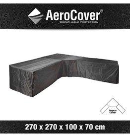 AeroCover Tuinmeubelhoezen Beschermhoes Loungeset 270 x 270 x 100 x 70 cm