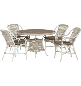 4 Seasons Outdoor Tuinmeubelen Diningset Loire Provance