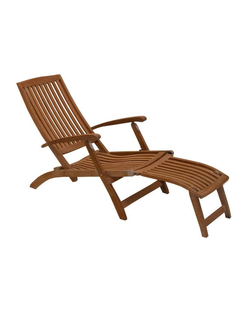 Traditional Teak Deckchair Alexandra