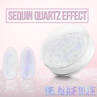Merkloos Seaquin Quarts effect - Alice Blue (nr. 05)