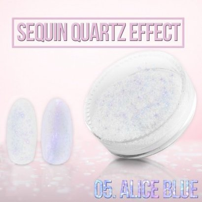 Merkloos Seaquin Quarts effect - Alice Blue