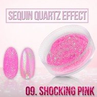 Merkloos Seaquin Quarts effect - Shocking Pink (nr. 09)