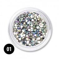 Mega Beauty Shop® Nailart Steentjes 1,5 mm (nr. 01)
