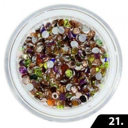 Mega Beauty Shop® Nailart Glas Steentjes 2 mm