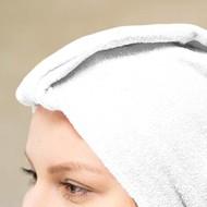 Mega Beauty Shop® Badstof tulband Wit