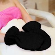 Mega Beauty Shop® Badstof handschoenen Zwart