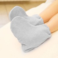 Mega Beauty Shop® Badstof sokken Grijs