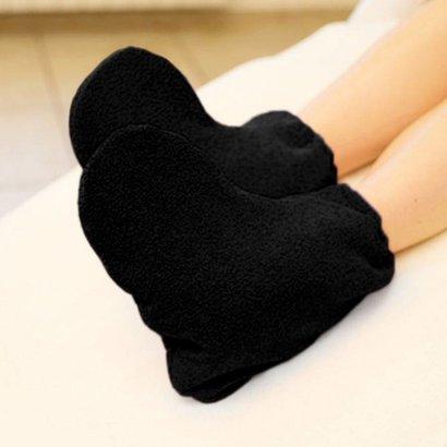 Mega Beauty Shop® Badstof sokken Zwart