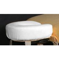 Merkloos Badstofhoes voor uitsparing massagebank  Wit