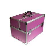 Merkloos Aluminium koffer Roze