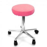 Merkloos Hoes voor krukken  (zitvlak) Roze
