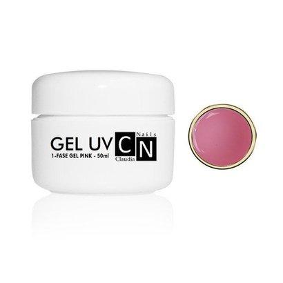 ClaudiaNails 1-fase gel roze 50 ml