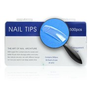Tips clear tipbox 500 stuks