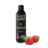 Mega Beauty Shop® MBS Gel remover (1000 ml)    met aardbeiengeur