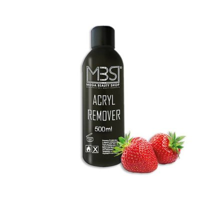 Mega Beauty Shop®  Acryl remover (500 ml)   met aardbeiengeur