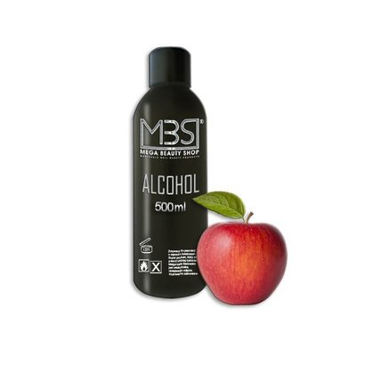Mega Beauty Shop® Alcohol (500 ml)   met appelgeur