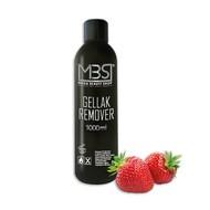 Mega Beauty Shop® MBS Gellak remover (1000 ml)    met aardbeiengeur