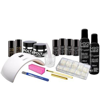 Mega Beauty Shop® Poly Systeem startpakket €128,00