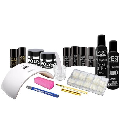 Mega Beauty Shop® Poly Systeem startpakket 8
