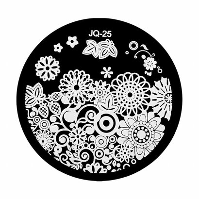 Merkloos Stamping Plate