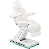 Mega Beauty Shop® Elektrische Behandelstoel LUXE Wit (4 motoren)