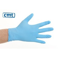 CMT CMT soft nitril handschoenen poedervrij  XL blauw