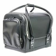 Merkloos Beautycase luxe zwart met  opbergvakken