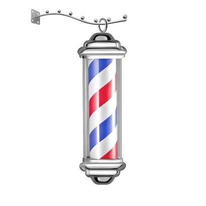 Merkloos Reclame verlichting Barber Shop  klein