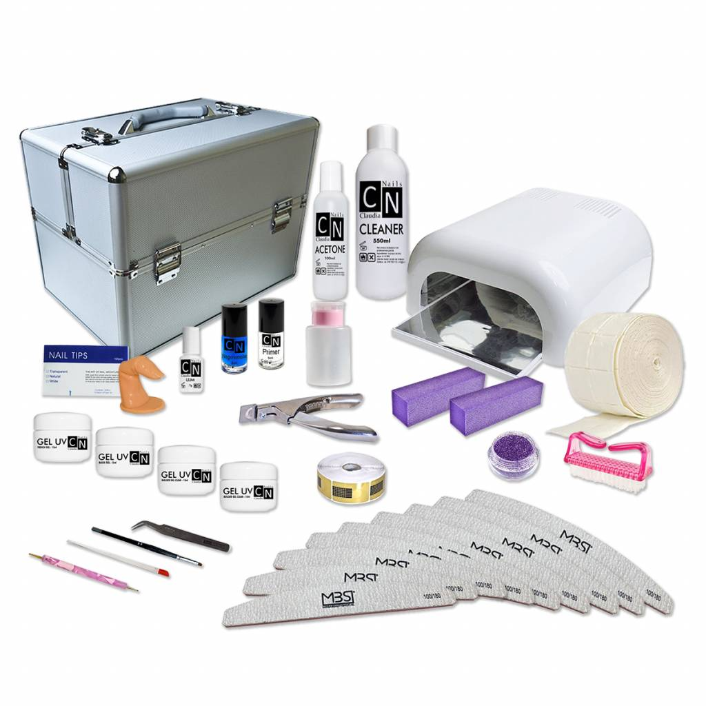 mega beauty shop-UV GEL STARTPAKKET