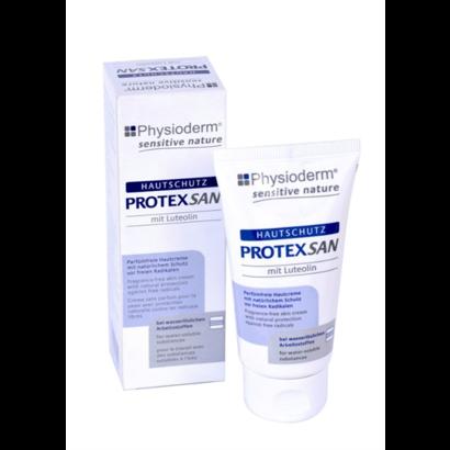 Physioderm Protex San huidbescherming bij water-oplosbaar vuil, 50ml tube