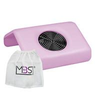 Merkloos Stofafzuiger Roze  met een motor incl.3 vervanging zakken